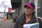 Debra Forster surveys the streets of Auckland the morning after her deportation from Australia. Photo / Tom Dyton