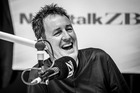 Mike Hosking reigned supreme again in the latest radio survey results. Photo /  Michael Craig