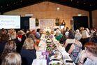 125 women filled Hamilton's grain exchange to celebrate their achievements. Photo / Craig Brown