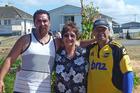 Carlos Rippon (left), Marama Dey and Wayne