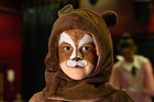 Vienna Seabright, 8, of Te Awamutu plays a woodland creature in her third show for Stories and More.