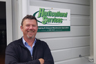 Tony Sanson's Horticultural Services company is up for a national ACC award. Photo / Jacob McSweeny