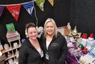 Rachel Gillet and Amy Spencer at their stall.The Women's Lifestyle Expo was a huge hit over the weekend.