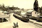 The Kawakawa steam train in 1906.