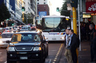 The bus strike in Auckland will run for 24 hours. Photo / Doug Sherring