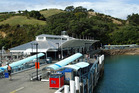 Up to eight drivers have been 'clogging up the rank' at the Matiatia Wharf ferry terminal at weekends.
