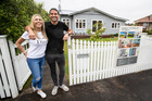 Ryan Pellett and his partner Candice Ruthven are selling their own Royal Oak home. Photo / Jason Oxenham.