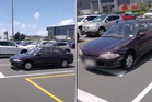 Shoppers are already feeling the Christmas chaos after one person was caught parking in the middle of a give-way intersection at the Mt Wellington shops. Photo / Supplied