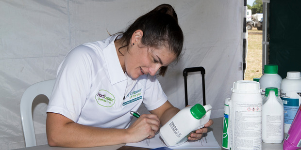 Erin Atkinson was the first female to win the Bay of Plenty Young Grower of the Year competition last year.