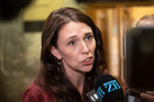 Prime Minister Jacinda Ardern says she did not respond to a text from an acquaintance about the Sroubek case. Photo / Mark Mitchell