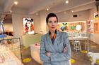 Designer Karen Walker says Michelle Obama rocking her brand was a surreal moment. Photo / Leon Menzies