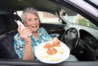 Carmen Walker, pictured in 2009, delivered meals on wheels to the elderly. Photo / Wanganui Chronicle