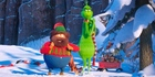 Bricklebaum, voiced by Kenan Thompson, and Grinch, voiced by Benedict Cumberbatch, in The Grinch.Photo / Universal Pictures via AP