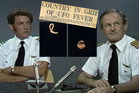 Bob Guard (left) and Bill Startup speaking (in 1979) in the documentary The Kaikoura UFOs recounting his experience of an Unidentified Flying Object experience over the Kaikoura coast.