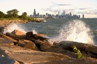 Chicago seen from the shores of Lake Michigan. Photo / Getty Images