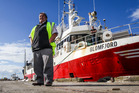 Ngati Kahungunu Iwi chairman Ngahiwi Tomoana at the Port of Napier after the arrival of iwi fishing vessel the Glomfjord last year. Photo / File