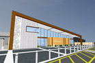 Artist's impression of the new terminal at Bay of Islands Airport. Image / Supplied