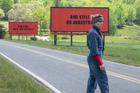 Frances McDormand stars in the Oscar nominated movie Three Billboards Outside Ebbing, Missouri. Photo / AP