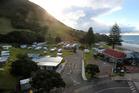 The Beachside Holiday Park in Mount Maunganui. Photo / John Borren