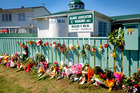 A Whanganui Muslim leader says gatherings and gifts of flowers left at the Masjid-E-Bilal mosque have touched his heart.  Photo/Bevan Conley