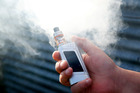 A proposed ban on e-cigarettes and vaping has been blown away. Photo / File