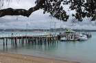 NAD 25Jan11 - EXPOSED: Russell's wharf suffered damage in the weekend's stormy weather and king tide. PHOTO: PETER DE GRAAF NGE 27Jan11 - NAD 04May11 - NGE 05May11 - NAD 21Dec11 - NGE 22Dec11 -