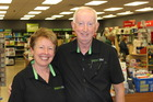 Coastlands Paper Plus owners Kaye and Rob Clarke.