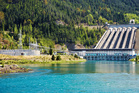 Meridian Energy, which runs the Benmore hydroelectric dam, will report its first-half results on February 20. Photo / 123RF