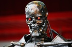 A lot of AI scaremongering centres on military artificial intelligence out of control a la Terminator, but IDC has a more meat-and-potatoes warning about bots taking white collar jobs. Photo / Getty.