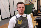 Samuel Monaghan has opened up a new barbershop. Photo / Stuart Munro