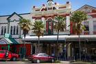 The AE Kitchen building in Victoria Ave is one of two Whanganui structures restored and earthquake strengthened with help from the Heritage EQUIP fund. Photo/ Bevan Conley