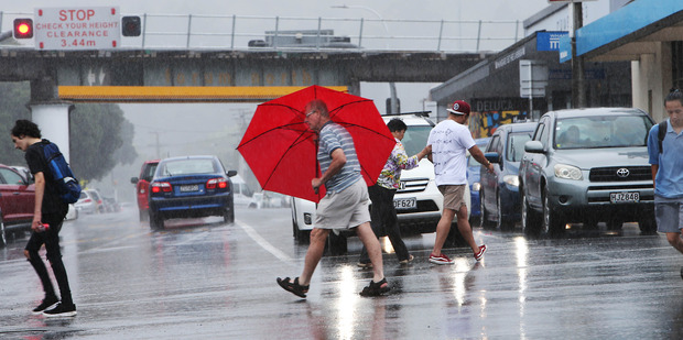 Get your brollies out Northlanders as MetService is predicting a heavy downpour as a result of a low. Photo / John Stone