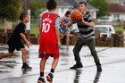 Like Otangārei's basketball tournament at it's new courts, Sport Northland is keen to involve people from the community like Leroy Davidson (right) in these initiatives. Photo / File