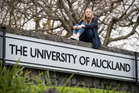 Engineering student MacKenzie Round pictured last year at the University of Auckland, which has slipped out of the world top 20 in all departments in the latest QS rankings. Photo / File